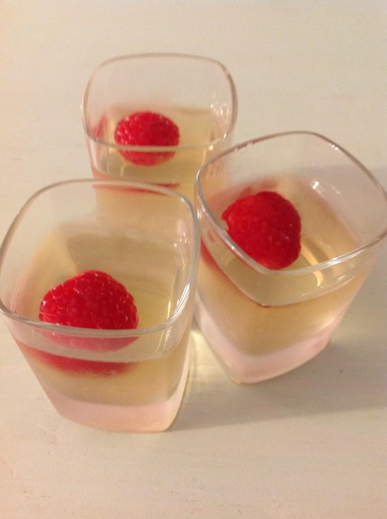 champagne jello finale
