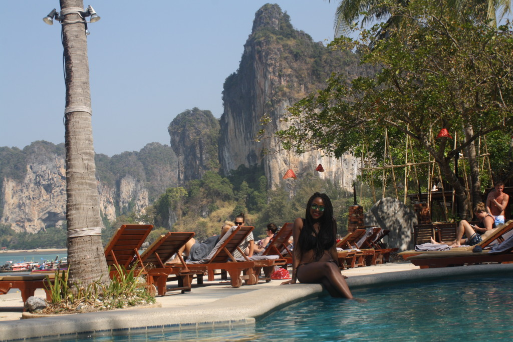 Poolside at Railay West Beach