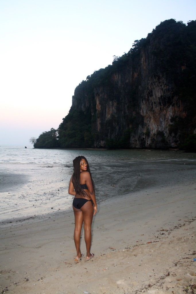Watching the Sunrise at Railay East Beach