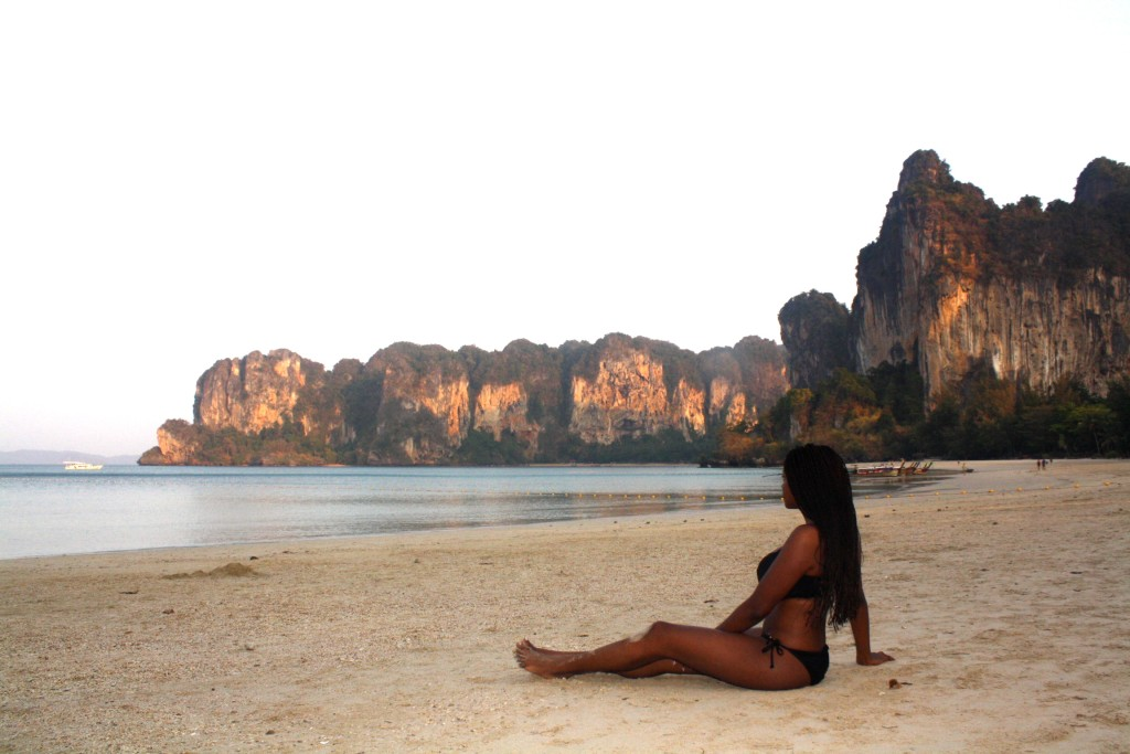 Being an Early Bird at Railay West Beach