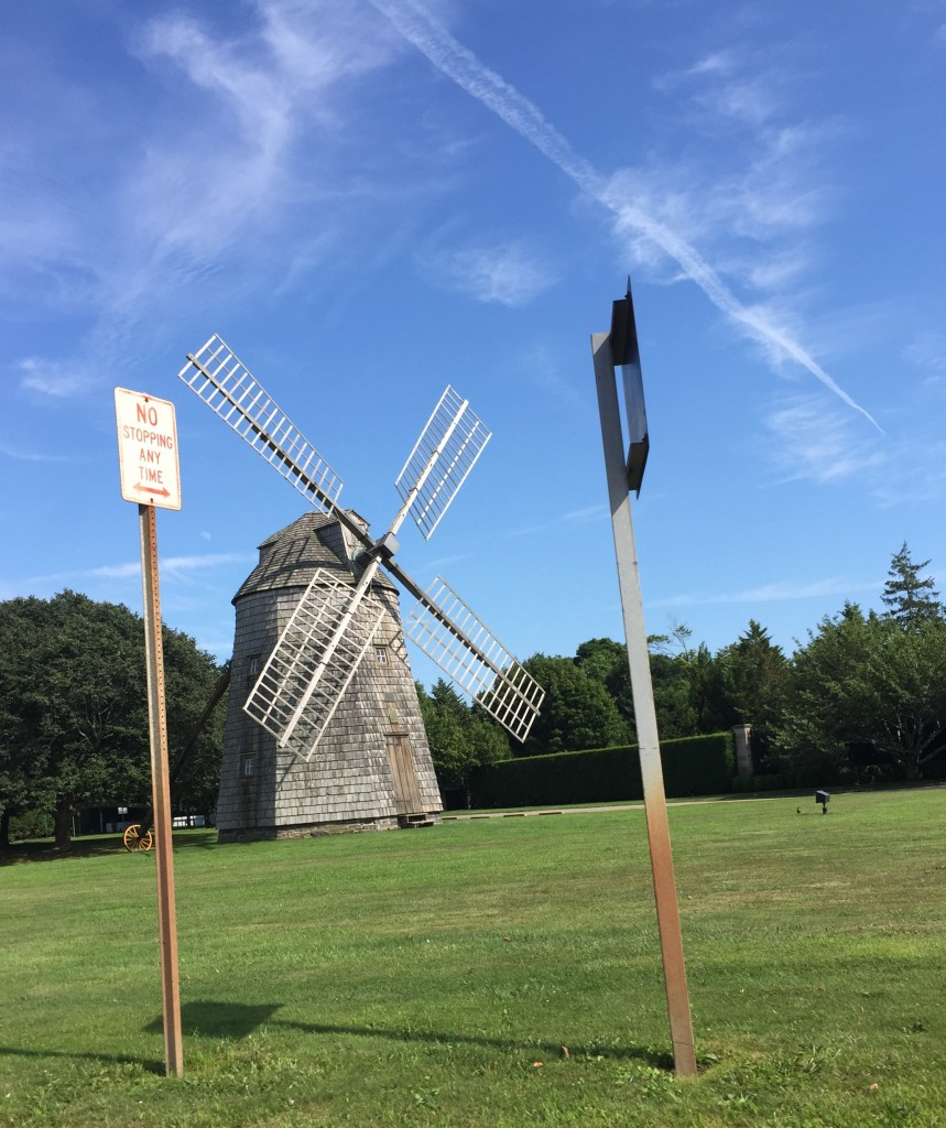 The windmill in the main area of East Hampton