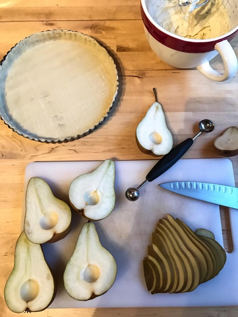 Pear Frangipane Tart Recipe