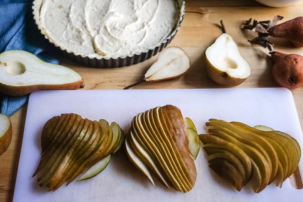 Sliced Pears