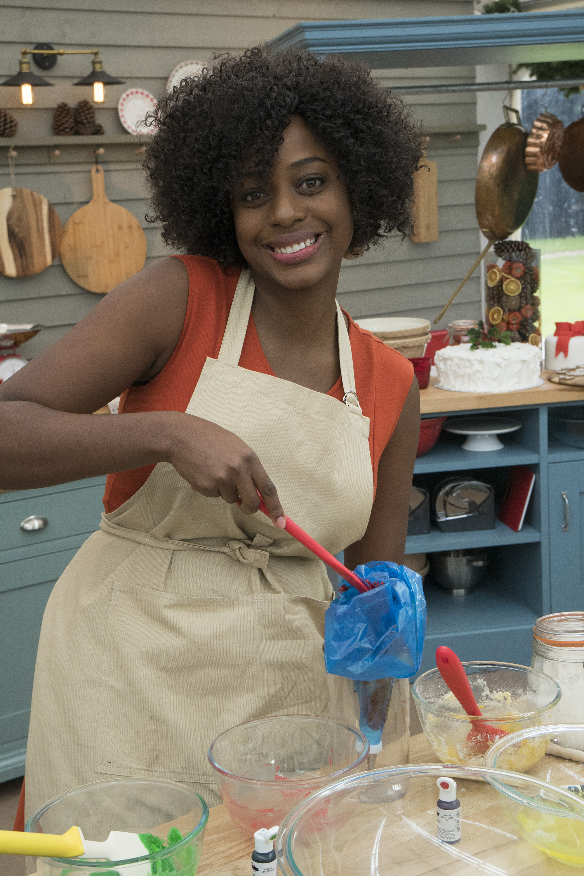 Vallery Lomas Great American Baking Show