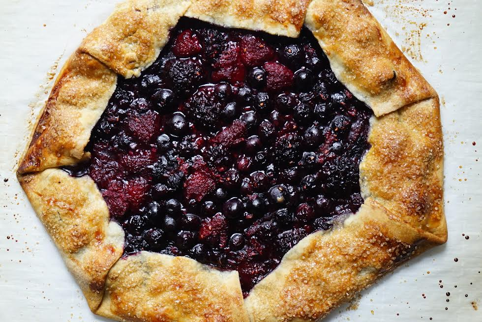 Perfectly-baked Rustic Berry Tart