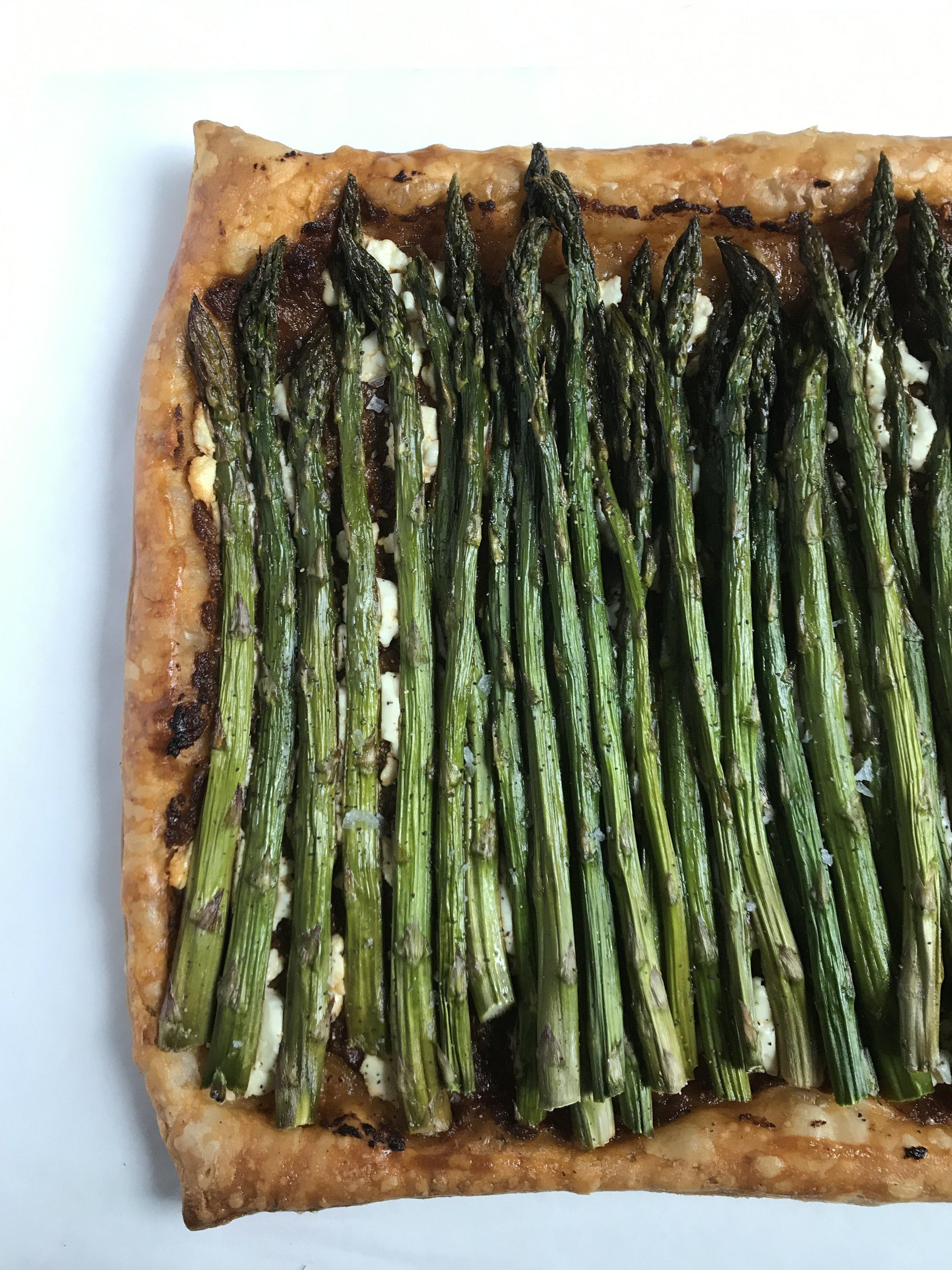 asparagus pesto tart.JPG