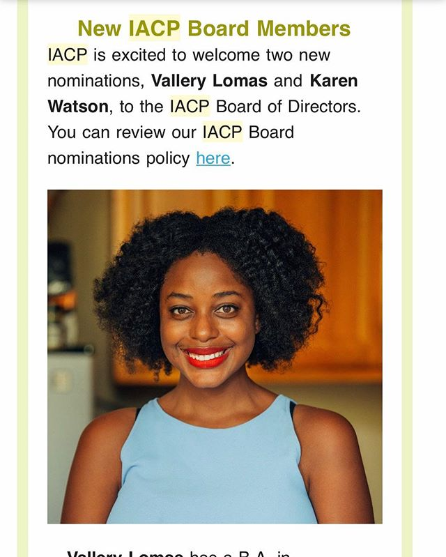 I have a pretty exciting announcement- I've been nominated to join the Board of Directors for IACP- the world's largest organization of culinary professionals. I'm so honored to be a part of this organization and to work with the rest of the board and members. Hope to see many of you at this year's conference in Santa Fe!
