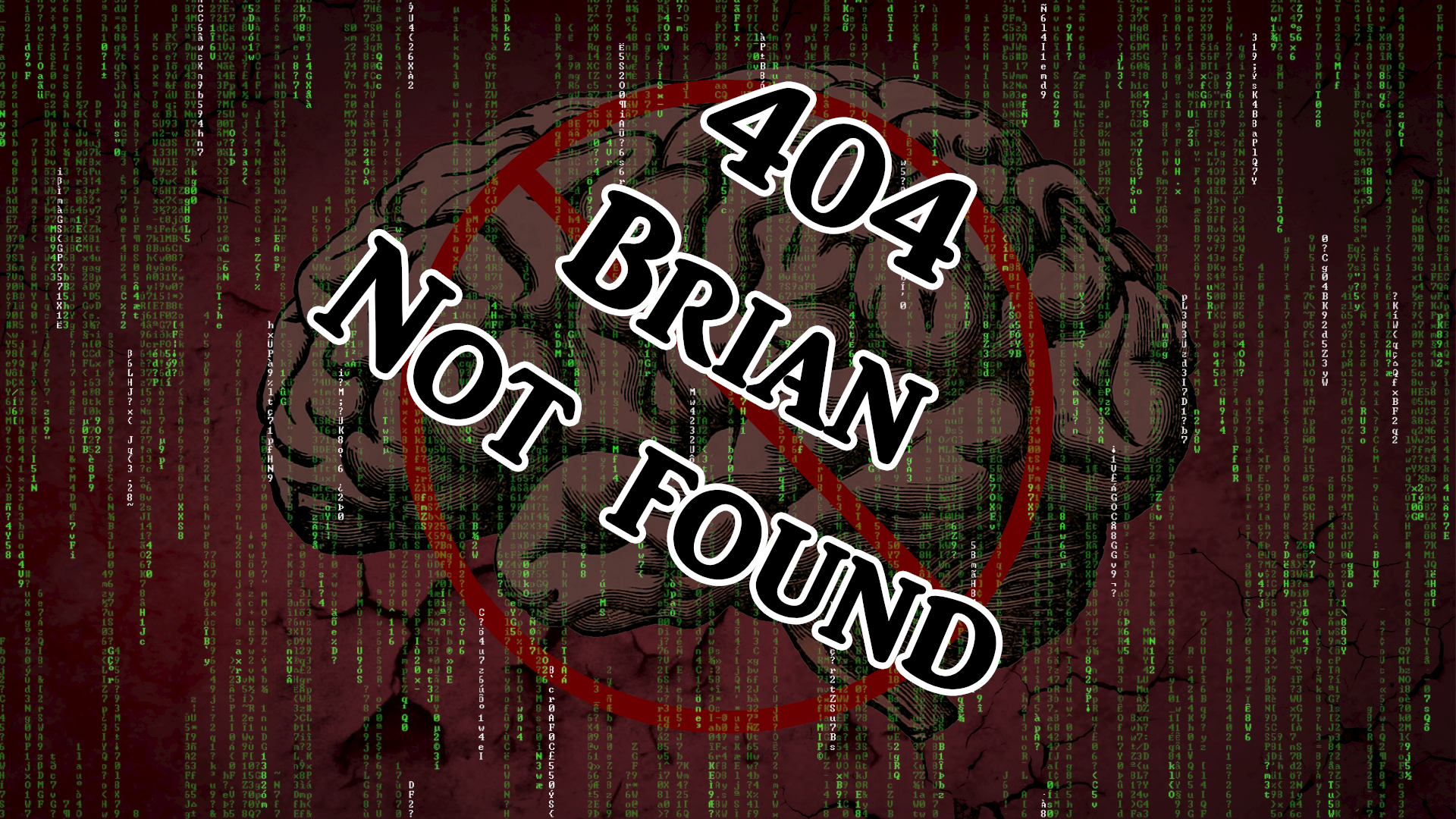 """Fun fact: while attempting to misspell the word brain, I accidentally misspelled the misspelling, resulting in an original filename of """"Brina not found"""""""