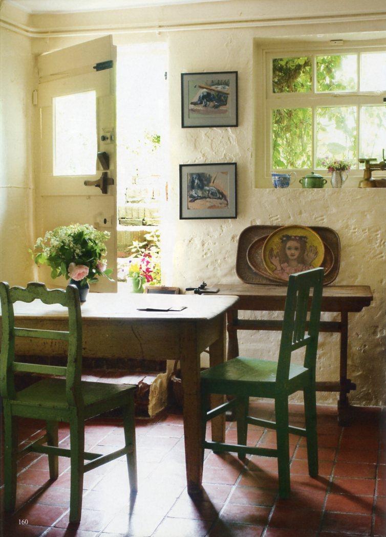 The kitchen at Monks House. Image: National Trust Images/Caroline Arber