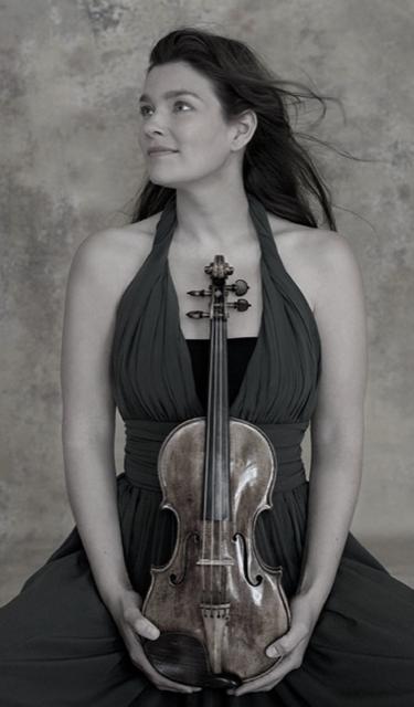 Dutch violinist Janine Jansen