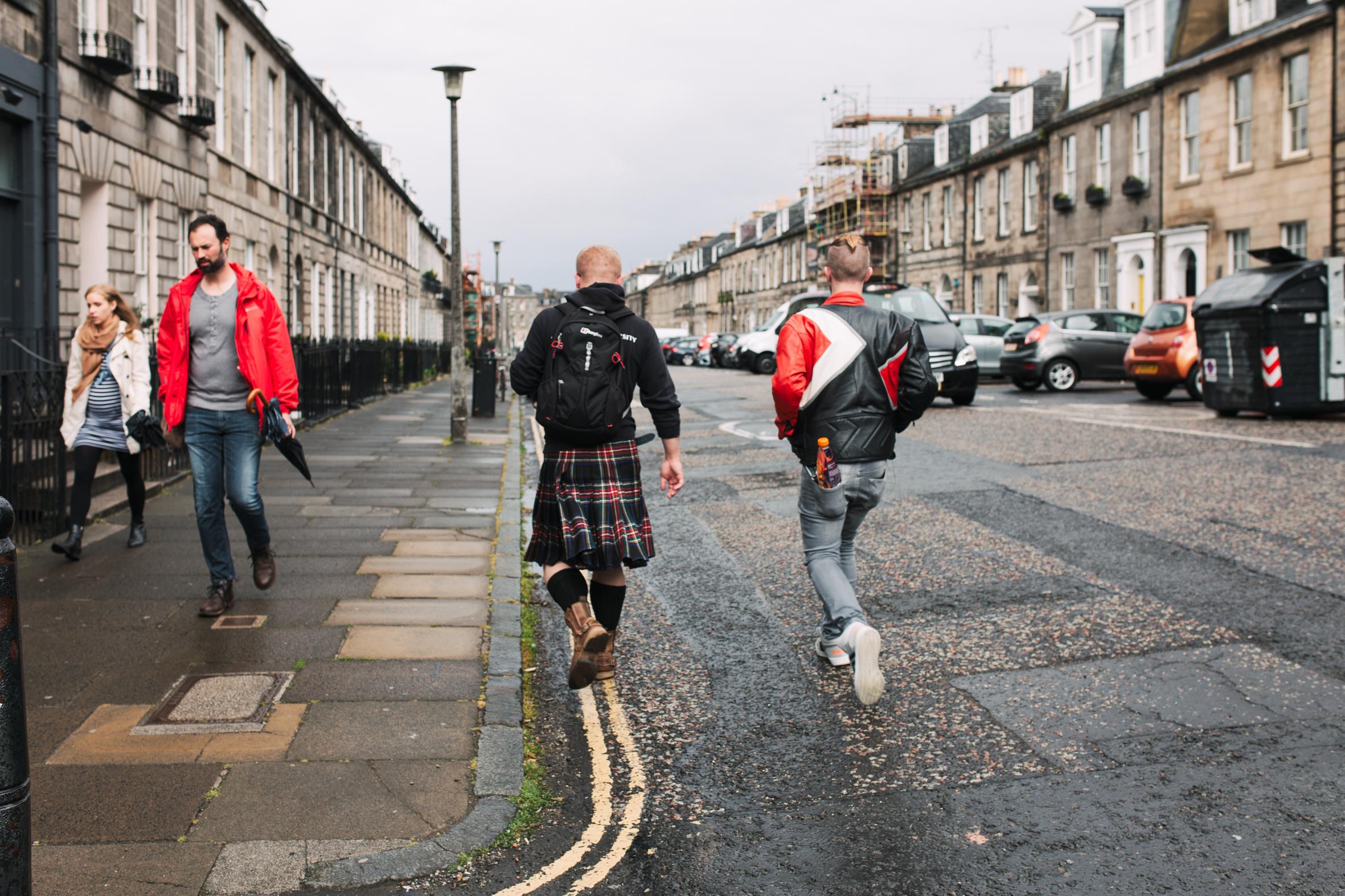 A Scotsman in Edinburgh