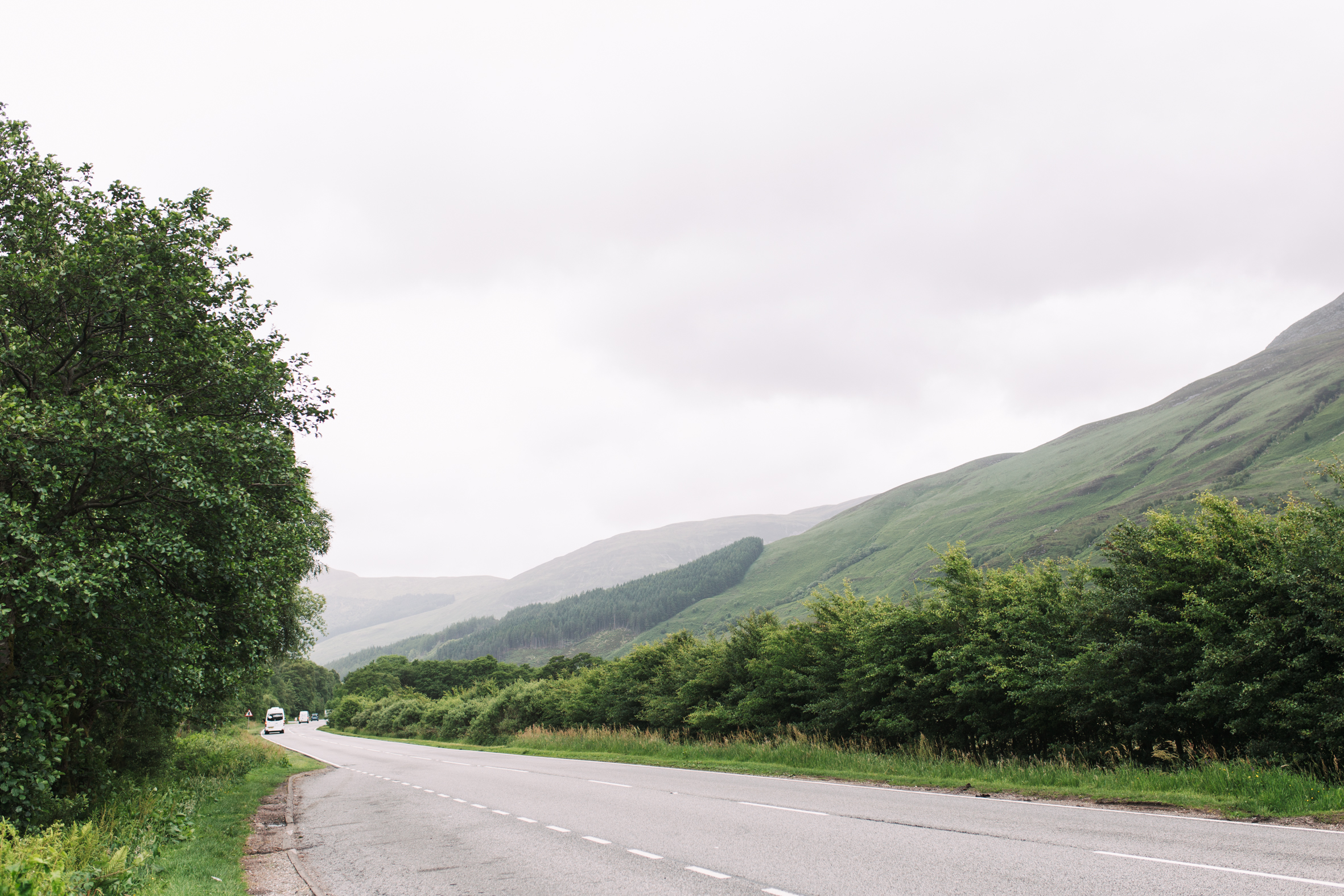 The road trip up to the highlands