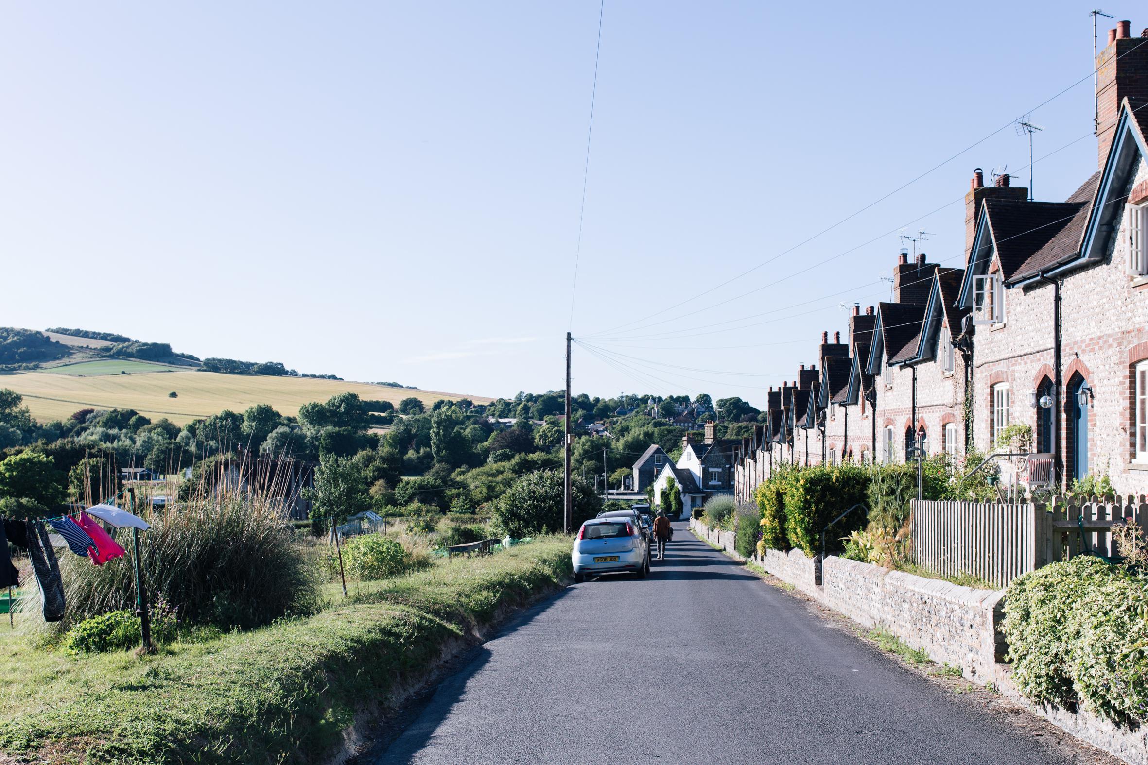 The village of Glynde