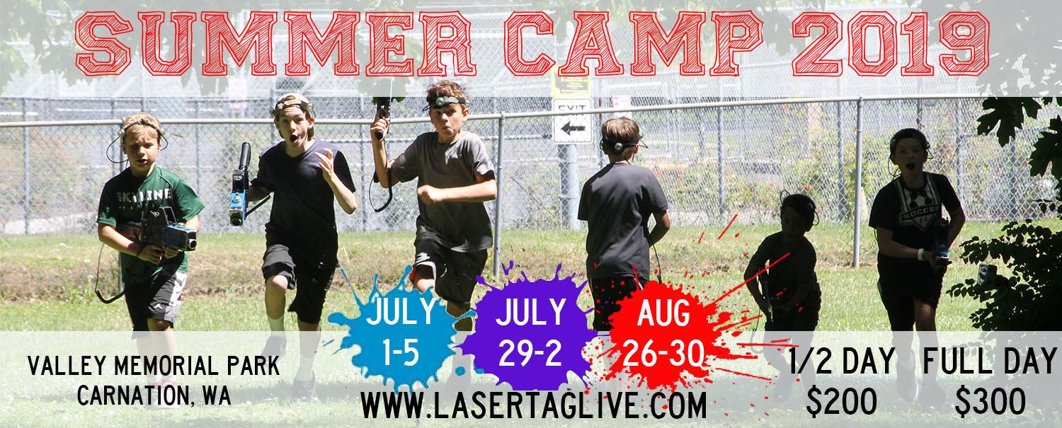 Adrenaline Sports, LLC & Laser Tag Live are teaming up for the most epic summer camp ever