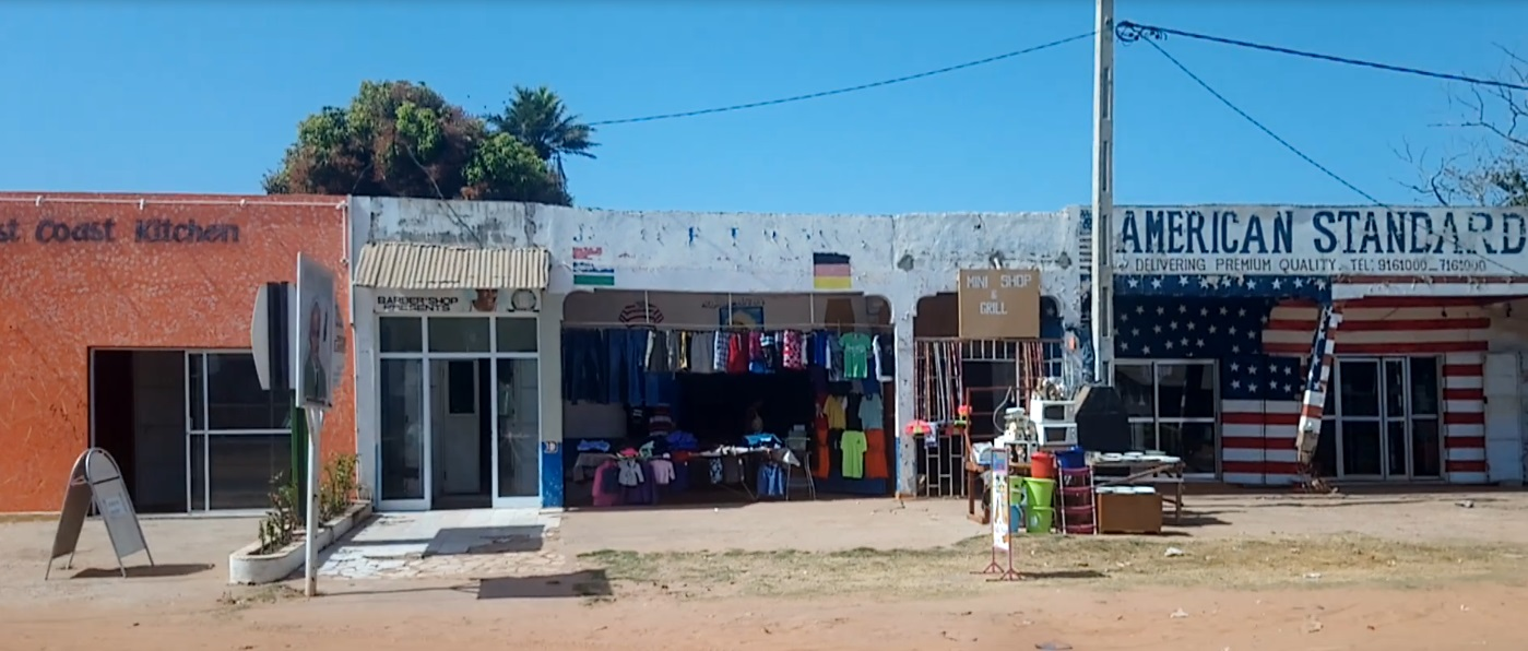 Why Brufut? - Brufut is a vibrant area of Gambia with a friendly local community. It is well served by local buses and taxis and the Sea Breeze Apartments block is directly on the main road. The apartments are above a row of shops including