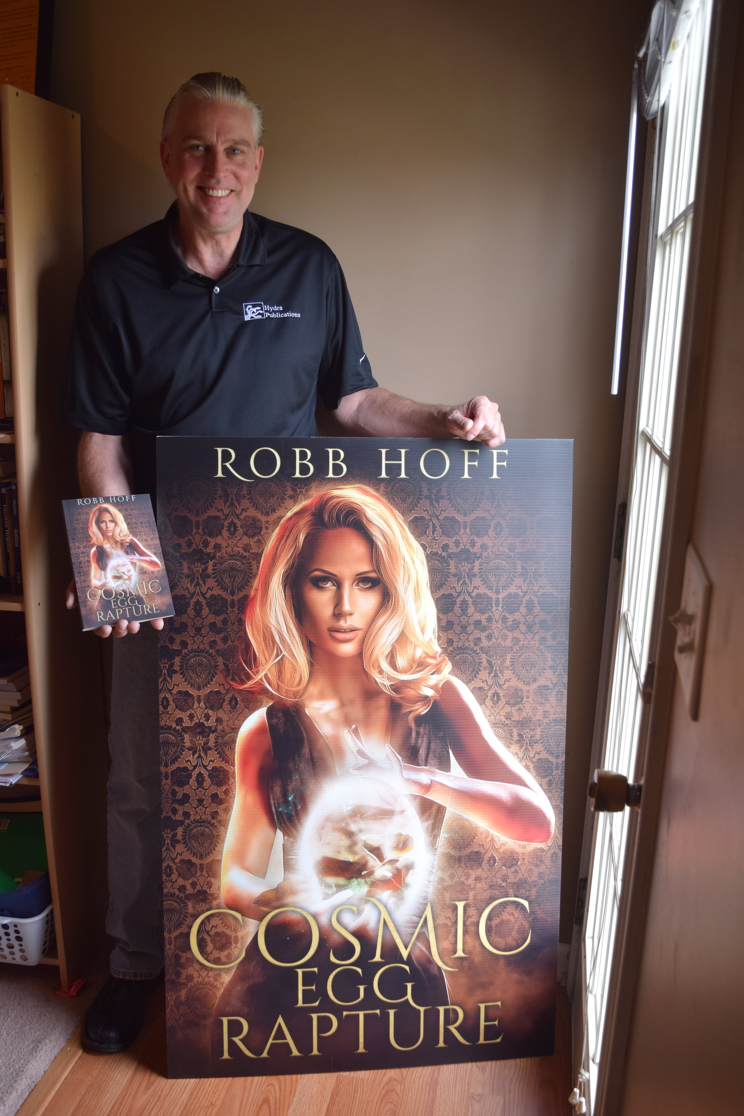 - Book signing season is about to burst in full bloom! The lovely and talented Sirena will be joining me Saturday March 31 at the Louisville Hyatt Regency for the Books in Bourbon Country Author Signing Event. Can't make it? No worries. Click image to order my Cosmic Egg Rapture novel, print or Kindle edition. (Yes, that's Sirena on the cover with her Cosmic Egg!)