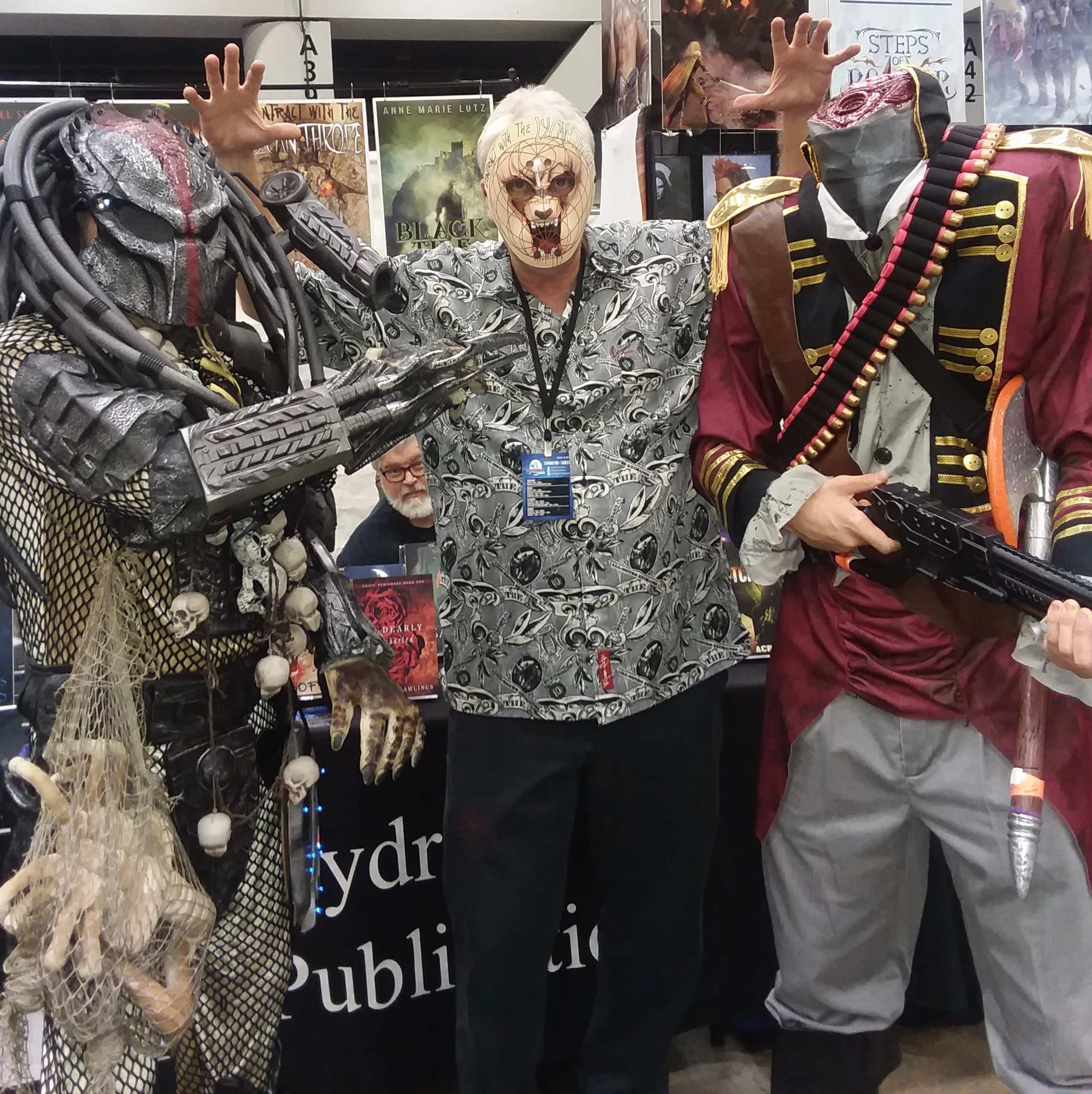 The Lycanthrope escaped the wrath of the Sleepy Hollow Headless Horseman and the Superhuman Predator just in time to offer you this $15.00 Howl-O-Ween special for Contract With The Lycanthrope!