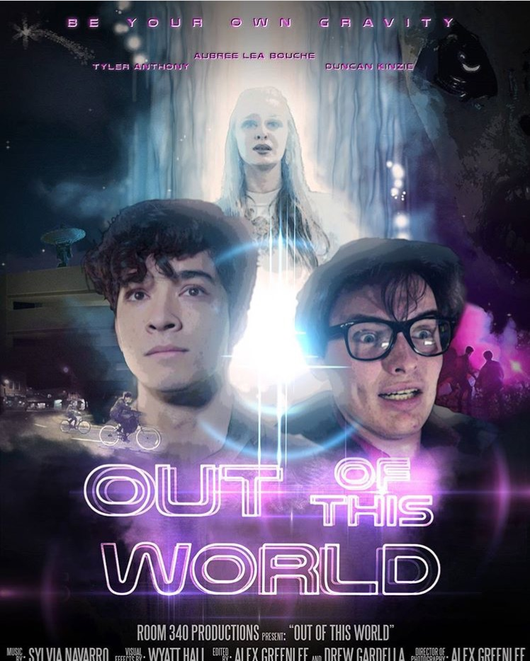 Poster for, Out of this World, a Chapman produced film.