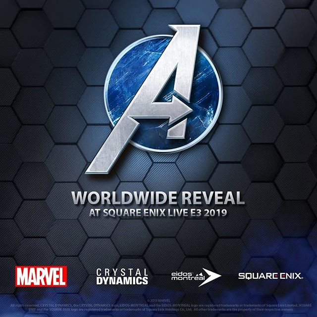 It's finally happening. Square's Avengers game will finally be revealed. All my nerd dreams are coming true. #e32019 #squareenix #avenegers #eidosinteractive #crystaldynamics #marvel