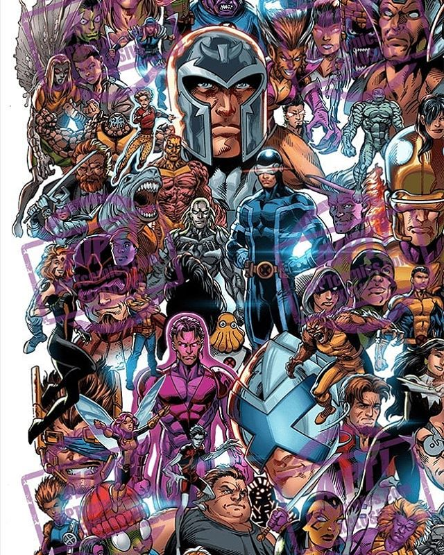 Awesome connecting variants for the X-Men relaunch. #xmen #houseofx #powersofx #marvel
