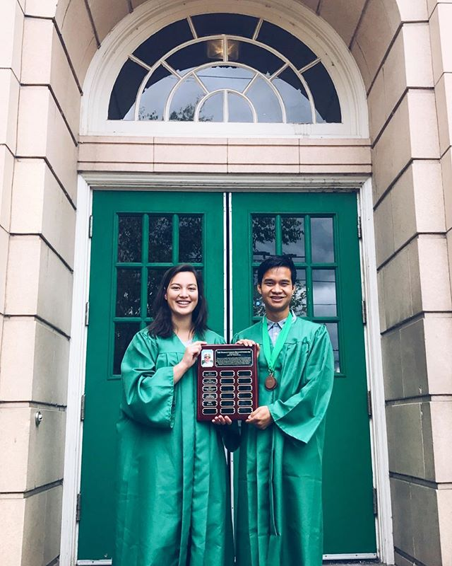 Congratulations to this years LTJG Thomas J. Cameron Scholarship recipients, Alayna and Peter! Not only do these two keep their marks up in school, they're also beacons of positivity in their respective communities, demonstrating outstanding teamwork and leadership skills. If you would like to learn more about this year's recipients, make sure you sign up for our emails and check your inbox later this week. Welcome to the family, Alayna and Peter!