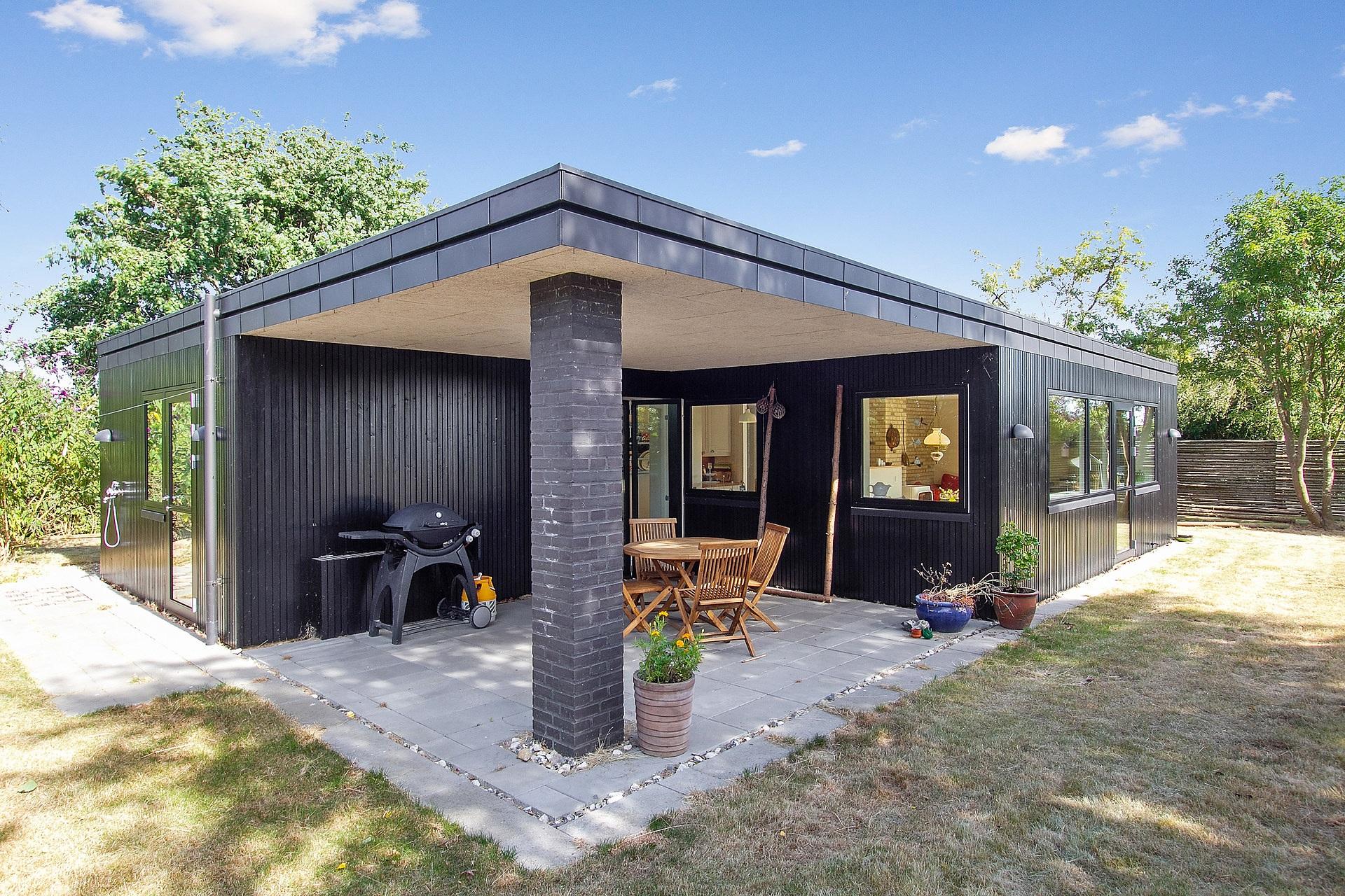 Picture of: Nybygget Sommerhus Bygget Som Totalentreprise