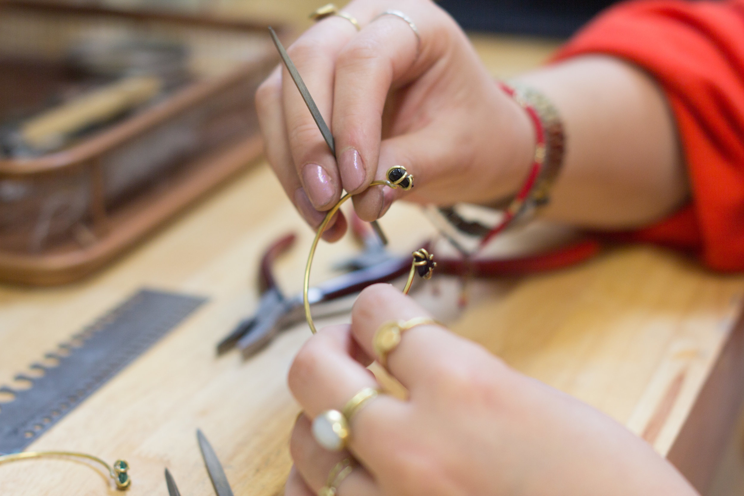 Contemporary Handcrafted Jewelry -