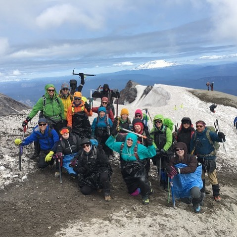 Mt. St Helens with our friends from P:ear 💜