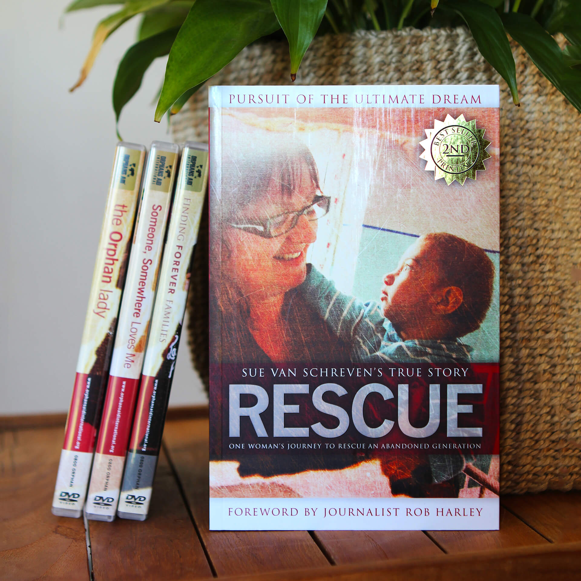 Rescue: Pursuit of the Ultimate Dream, by Sue van Schreven. RRP NZ $29.99, ISBN: 978-0-473-18976-1.   180 Pages including 24 Full Colour Pages.