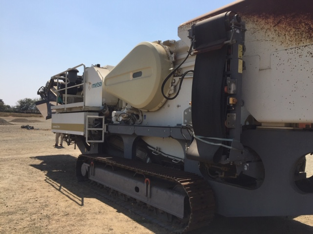 Figure 2:  Mobile Mobile Jaw Crusher - Metso Locotrack LT 106