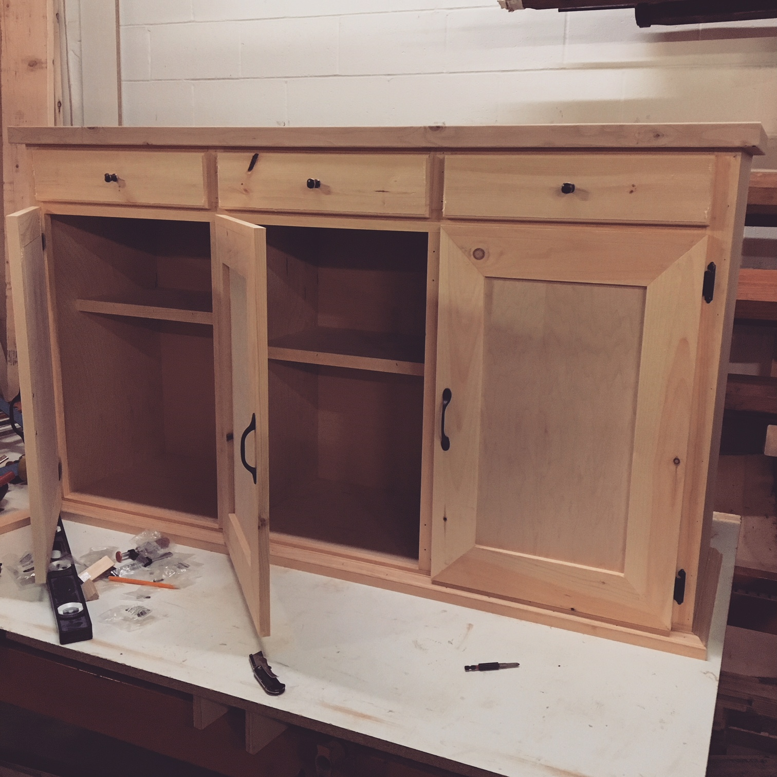3 door and drawer sideboard.JPG