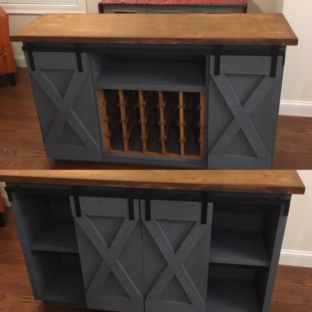 wine rack z brace barn door buffet.JPG