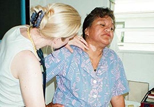Dr. Liz Dawes-Higgs travelled to The Cook Islands as a volunteer doctor.
