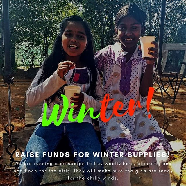 Bangalore is getting cooler. We are located on the outskirts of the city where it's cooler. Help us buy warmer clothes for the girls including woolly hats and blankets 🤩😍💯🙏🌺🌼. . https://www.smallchange.ngo/fundraiser/help-keep-girls-warm-this-winter/ . #raisingstronggirls #likeagirl #smartgirls #warmth