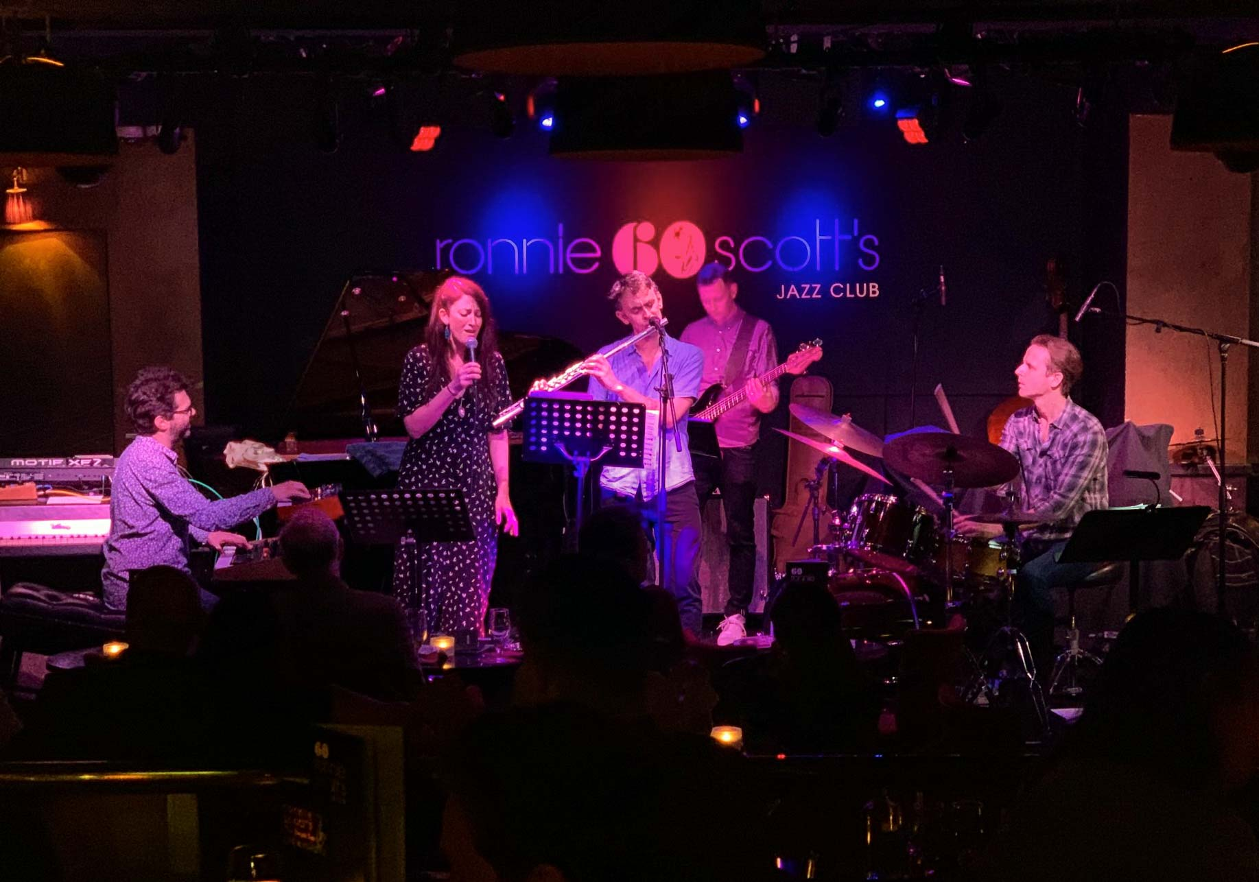 Album launch @ Ronnie Scotts