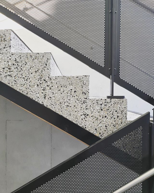 Stair Details at the nearly completed MLC Year 7 & 8 Centre | Melbourne, VIC 👏🏻