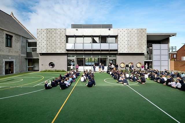 Christ Church Grammar School | 2019 Victorian Architecture Awards - Commendation for Educational Architecture @architecture_vic #vicawards19 | In association with Sally Draper Architects | Thank you to the institute & jury for recognising this project | Photos by @emmacrossphoto