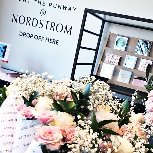 "I got to have a little ""me"" time last night at the @nordstrom x #RentTheRunway event in Hollywood. Guests were pampered and treated to super cute gifts. Thanks @nordstromlocal & @renttherunway ❤️😍 The Nordstrom Local store on Melrose Place is now a drop-off site for your rented pieces. They also offer personal styling, alterations, dry cleaning, nail services, gift wrapping and easy returns. So fab & so fun! #HappyFridayFriends #NordstromLocal #nordstromlove"