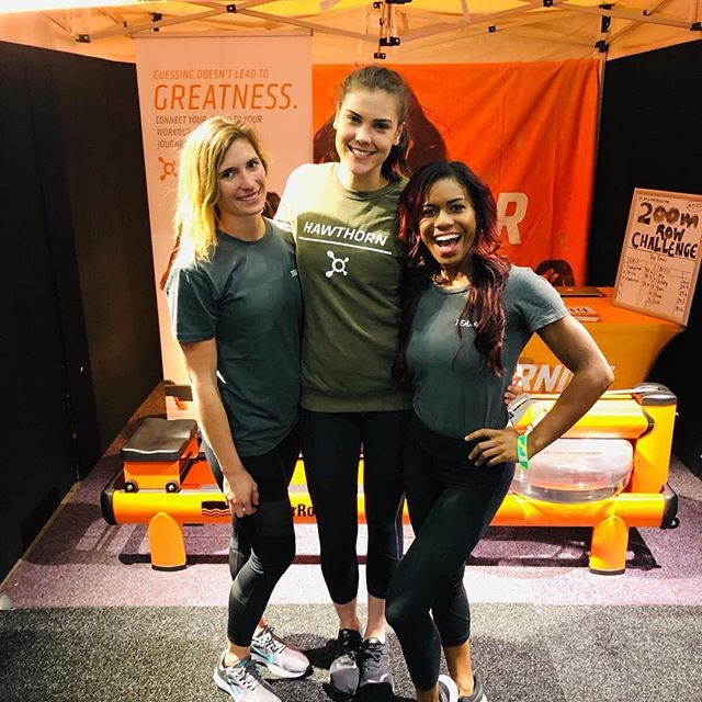 Day 3 of the Arnold Classic and we are LOVING IT! . Come down and say hi for your chance to win some incredible OTF prizes. 💪🏽 🚣‍♀️ #otfsundays #arnoldclassic2019  OrangetheoryMelb.