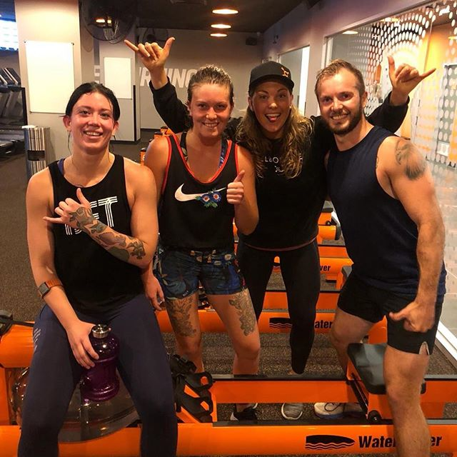 Happy #humpday from just a few of our incredible #OTFMELBOURNE coaches! #orangetheoryfitness #morelife . . . #australiaotf #splatpoints #personaltrainingaus #melbournetrainers #community #basepushallout #wackywednesday #heartratetraining #personaltrainingmelbourne