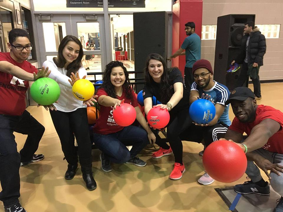 The Rutgers University chapter had their second annual dodgeball tournament on Friday, April 27th  Facebook: @b2p.rutgers  Instagram: @b2pru