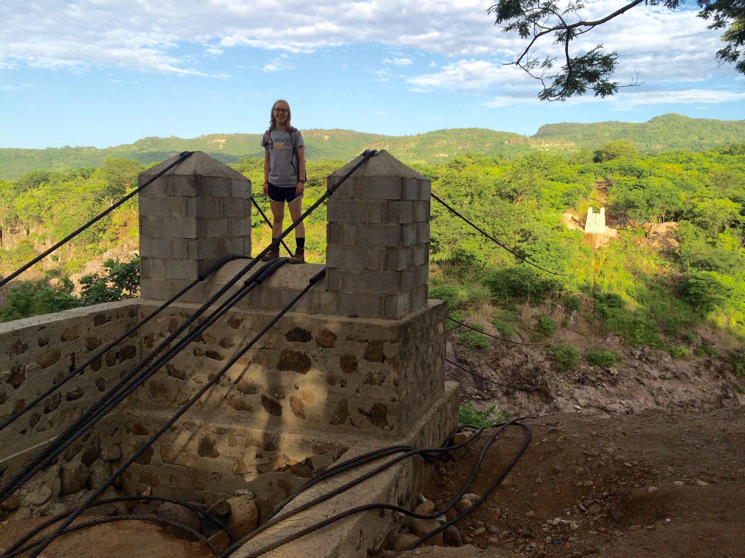 Savannah Washlesky - Savannah built a bridge in Nicaragua with the University of Notre Dame Team and is now a structural engineering master student at University of Virginia.