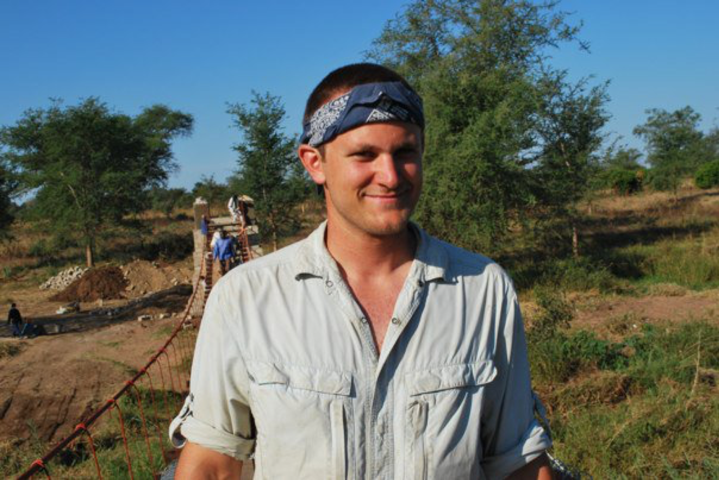 Mike Schaefer - Mike built a footbridge in Zambia and is now a postdoctoral researcher at University of California Riverside.