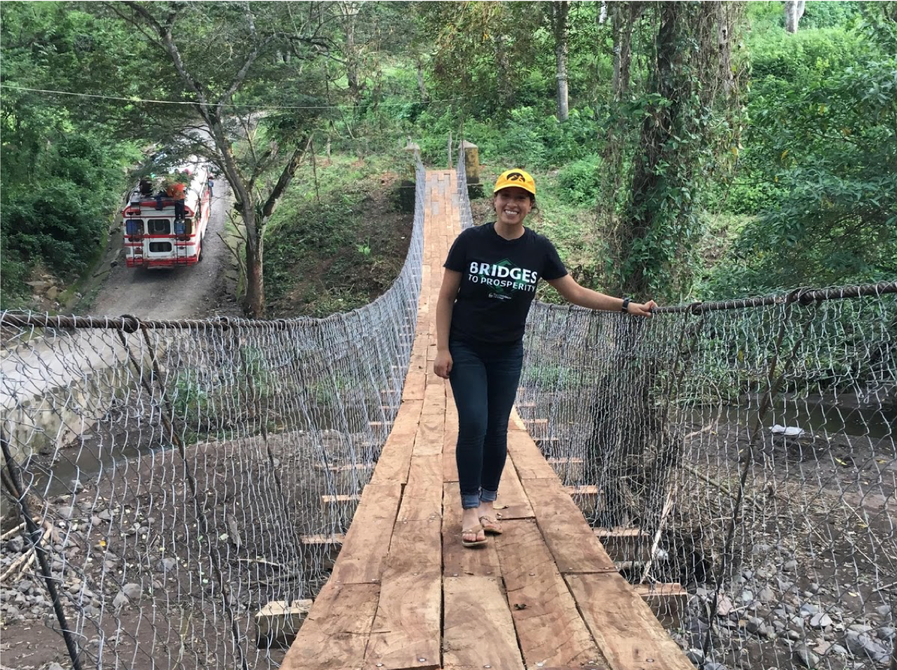 Mayra Corona - Mayra was the Logistics Manager for two bridge repairs in Nicaragua in 2017 and is now pursuing a degree in civil engineering at University of Iowa.