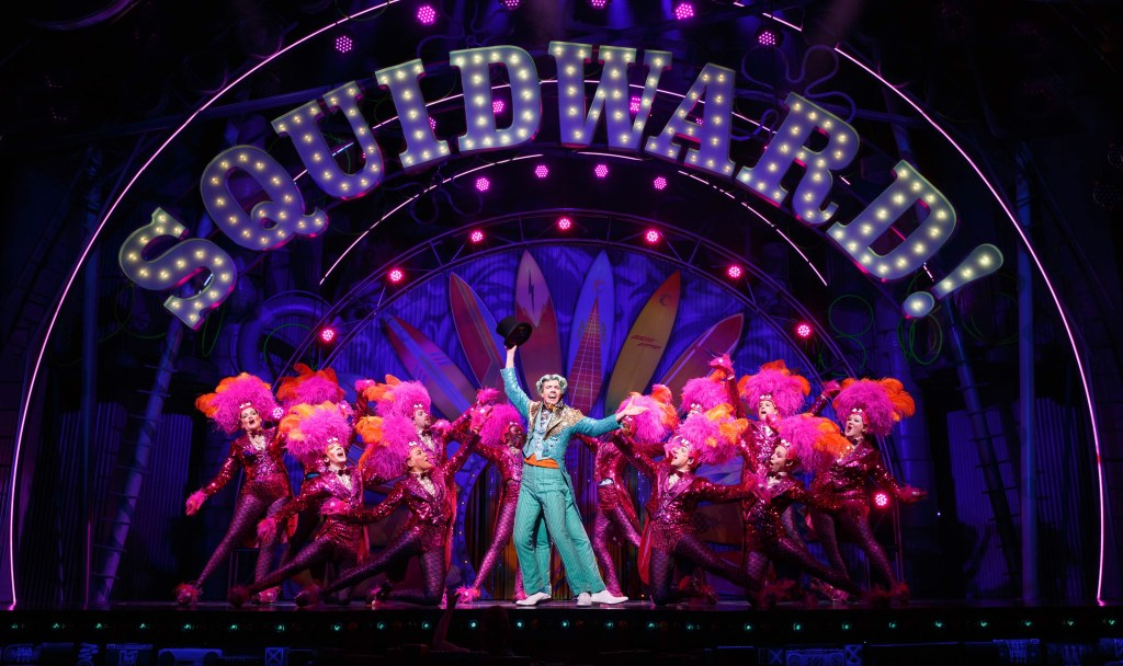 Spongebob Squarepants the Musical, photo by Joan Marcus