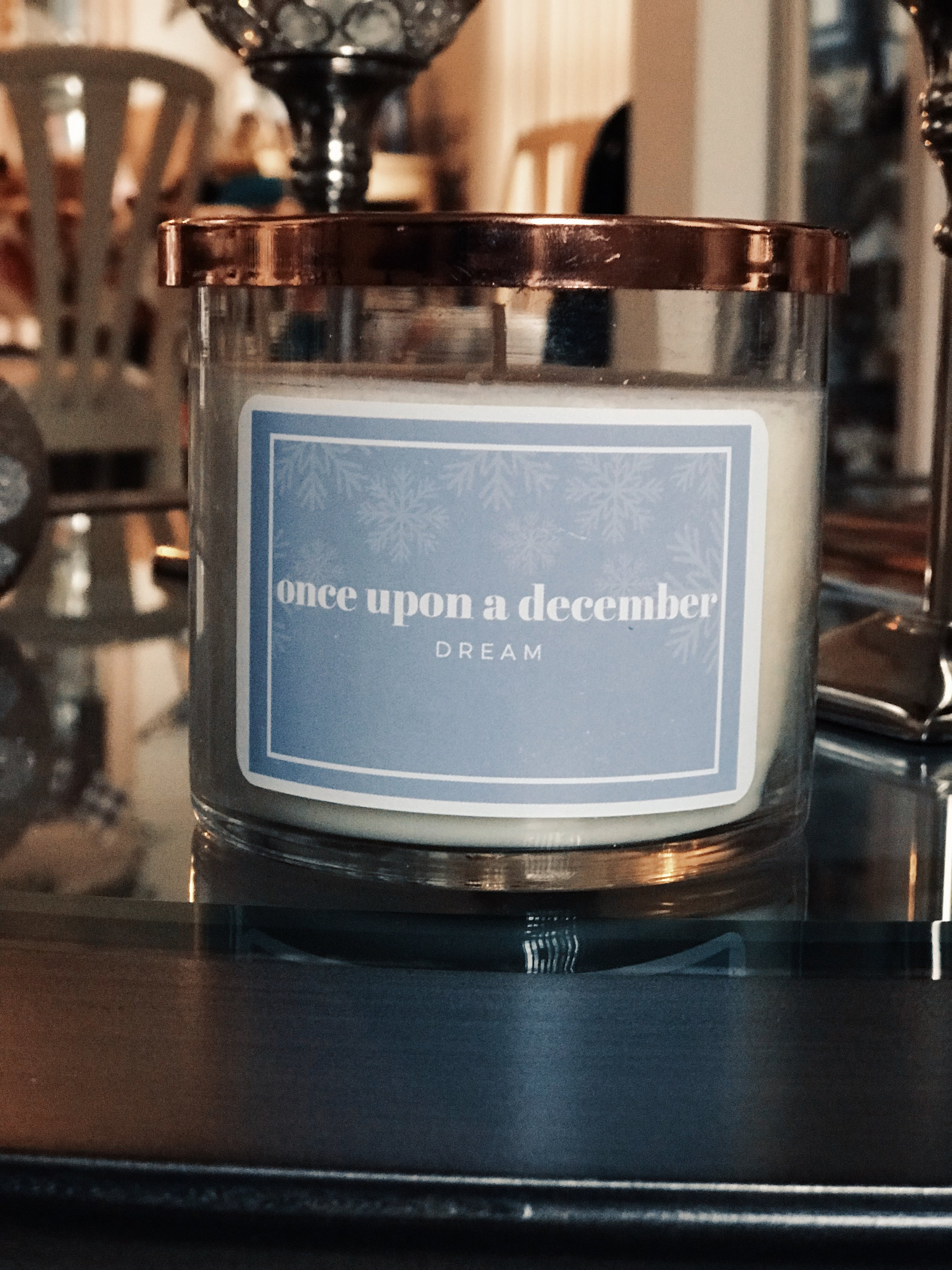 Little Shop of Rose Gold candle