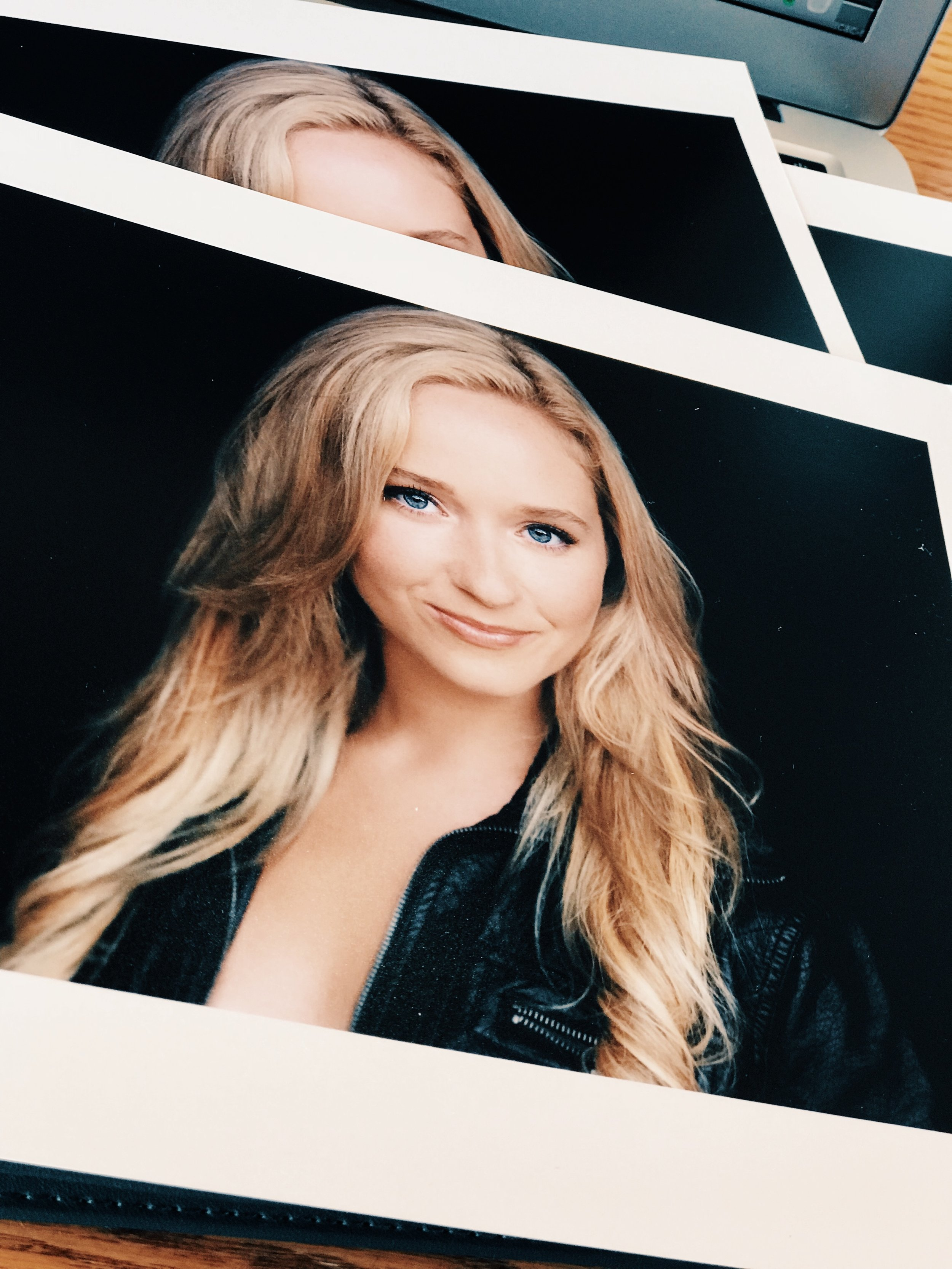 Headshots by Nathan Johnson, printed by Reproductions