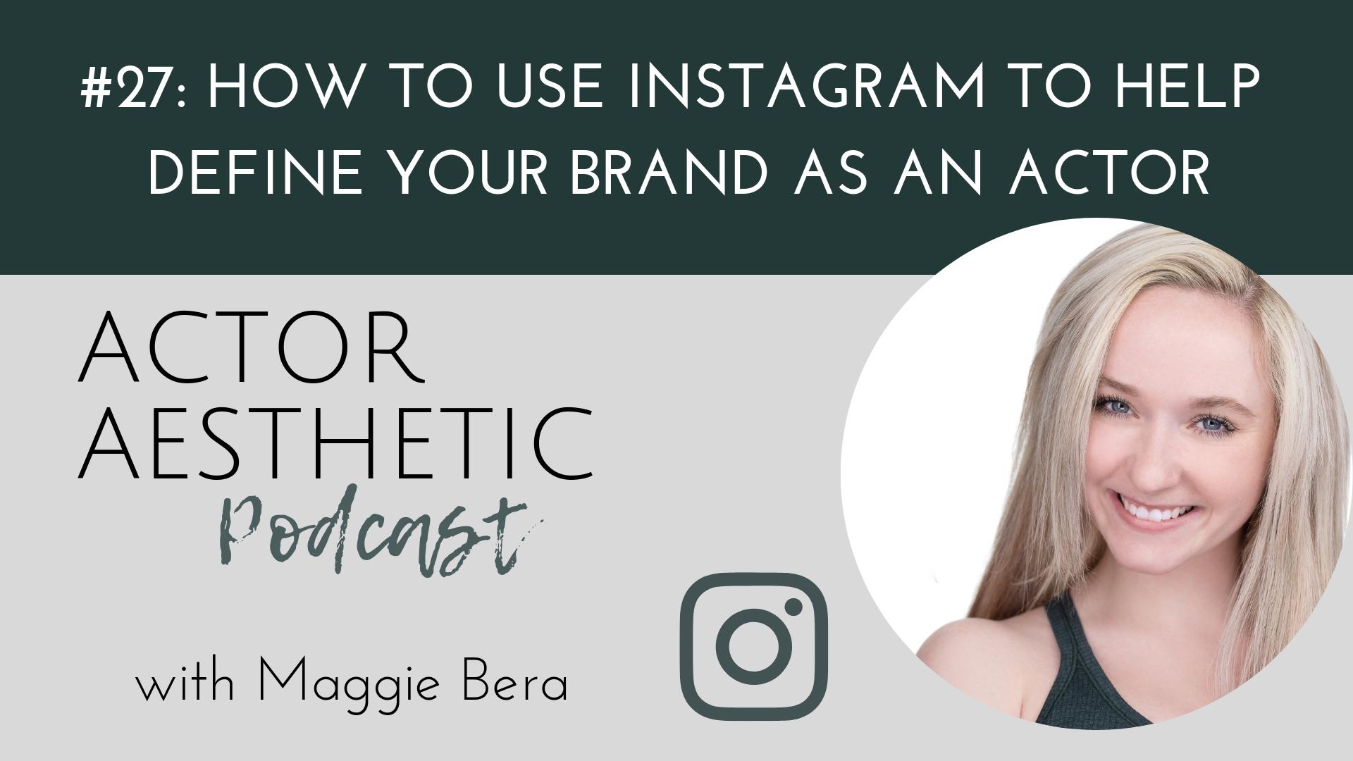 Actor Brand Social Media Instagram