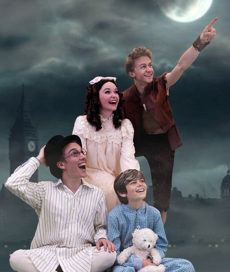 Peter Pan at Connecticut Repertory Theatre, where Maggie Bera earned her first EMC points
