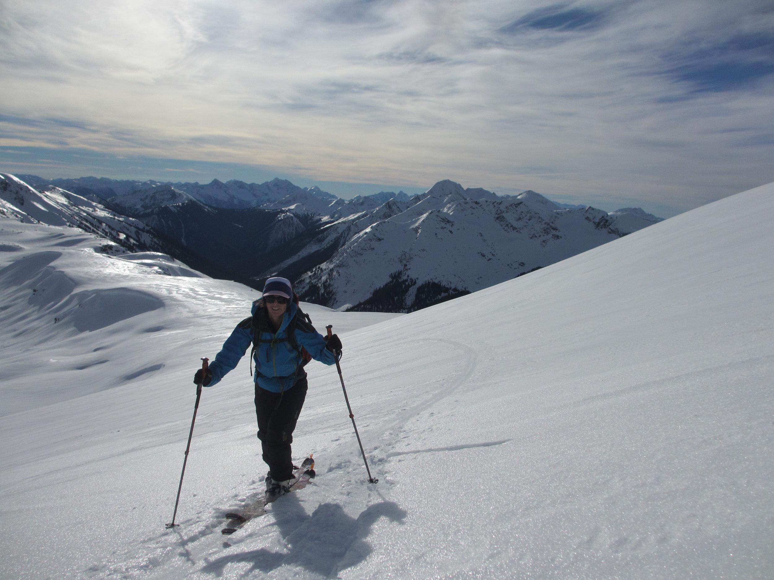 Intro to Ski touring -